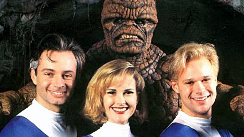 Fantastic Four - en legend börjar -